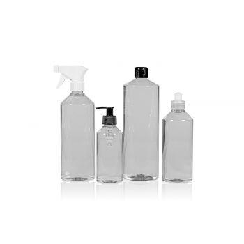 Combi Bottle PET Transparent