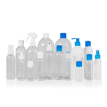 Basic Round bottles PET Transparent