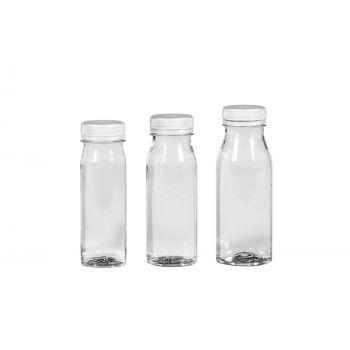 Juice Shot bottles PET Transparent