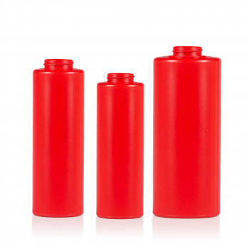 Sauce Bottle HDPE Red