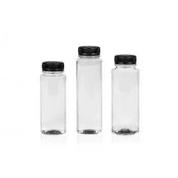 Juice Straight bottles PET Transparent