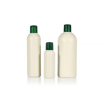 Recycled Basic Round bottles HDPE Ivory